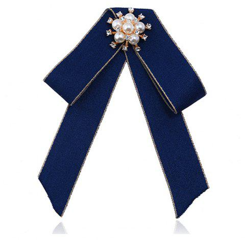 Double broche Bow All-match Mode exquise - Royal
