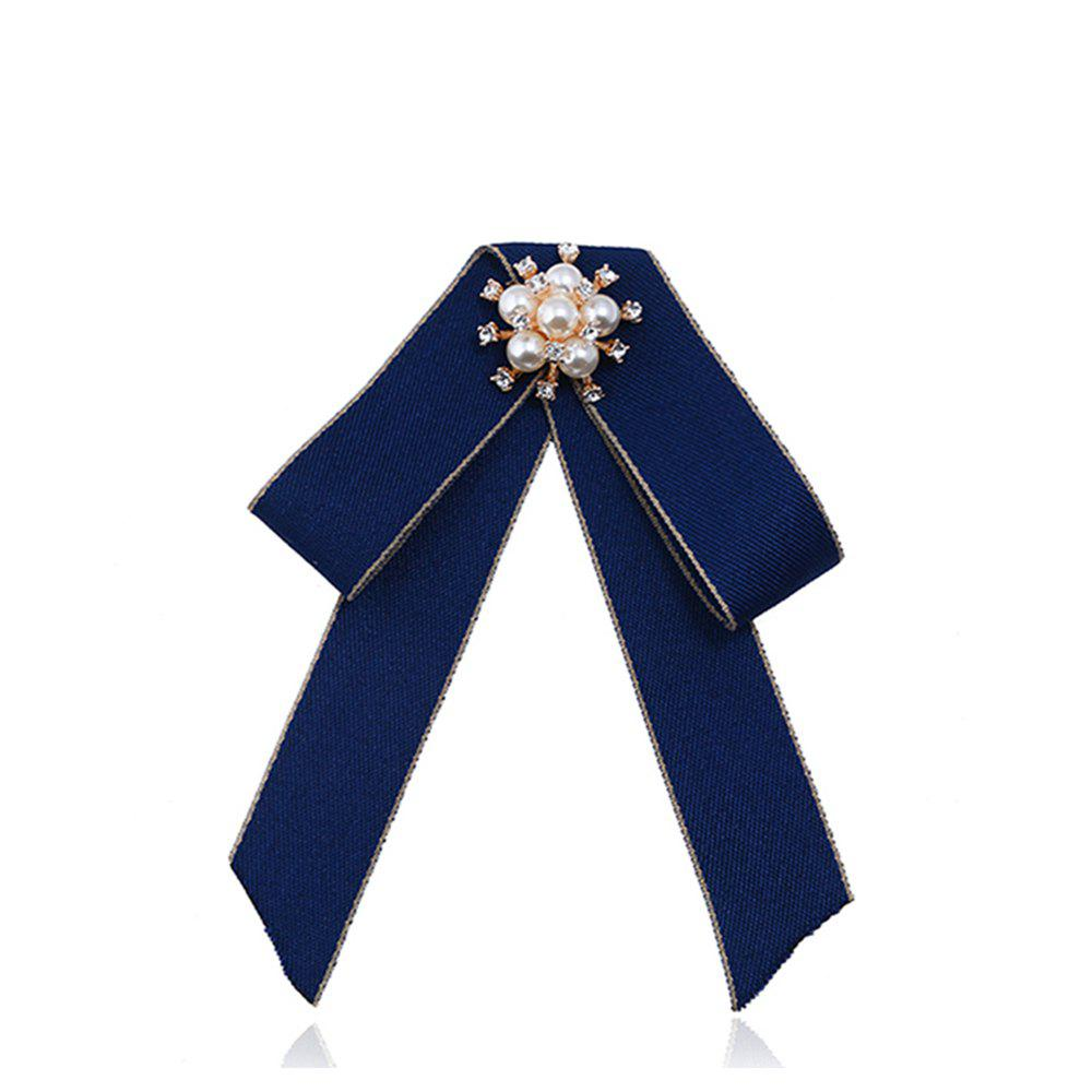 Double Bow Brooch All-match Exquisite Fashion - ROYAL