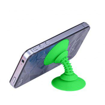 Silicon Double-sided Suction Cup Holder Sucker Stand For Mobile Phone - GREEN
