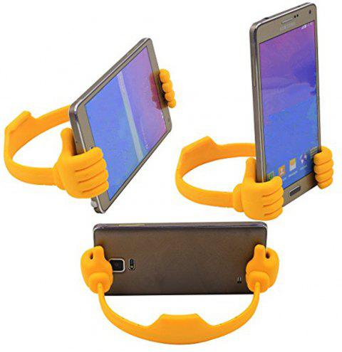 Mobile Phone Thumb Stents For IPhone /For Samsung/For MP3 General Mobile Phone Tablet Computer Desktop Support - ORANGE