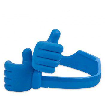 Mobile Phone Thumb Stents For IPhone /For Samsung/For MP3 General Mobile Phone Tablet Computer Desktop Support - BLUE