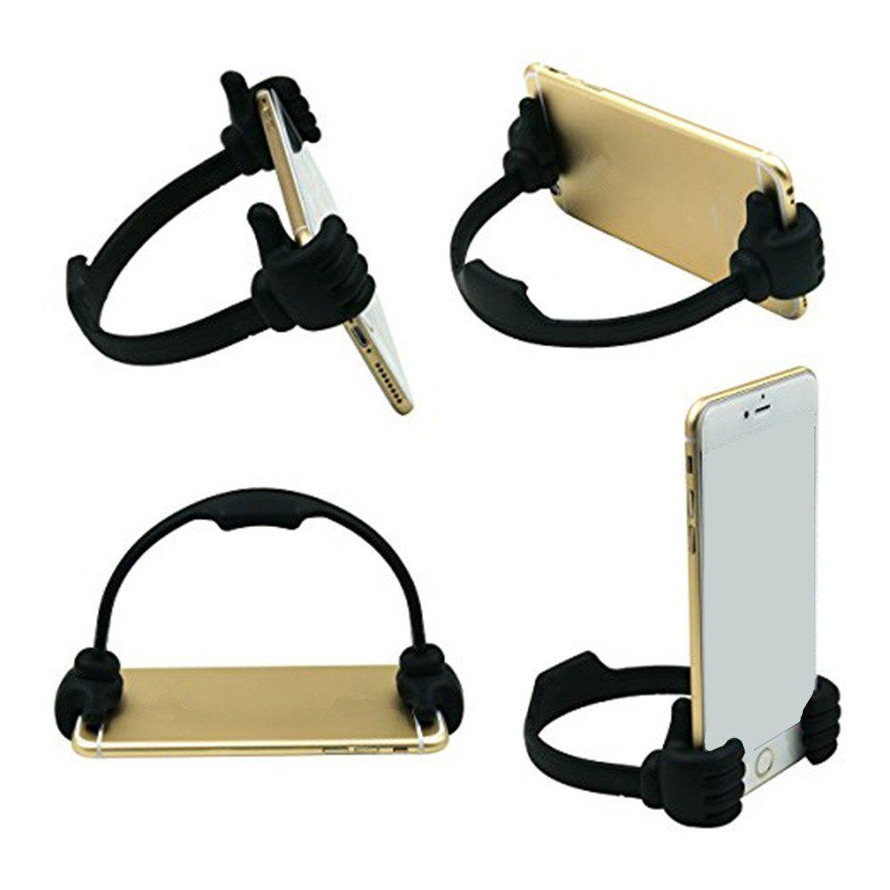 Mobile Phone Thumb Stents For IPhone /For Samsung/For MP3 General Mobile Phone Tablet Computer Desktop Support - BLACK