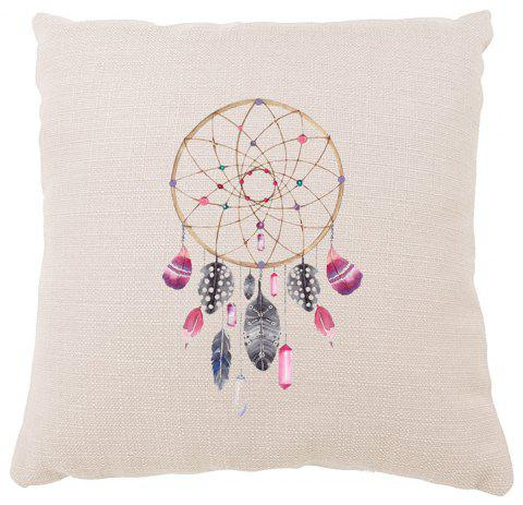 Simple Dreamcatcher Household Pillowcase Cusion Cover Indoor Furniture Decoration Supplies - COLORMIX 16INCH X16INCH