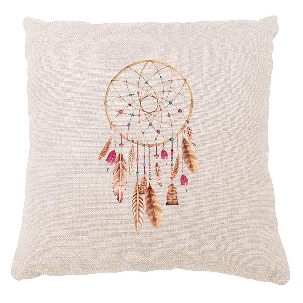 Hand Painted Color Dreamcatcher Sofa Cushion Set Square Pillow Sofa Cushion - COLORMIX 16INCH X16INCH