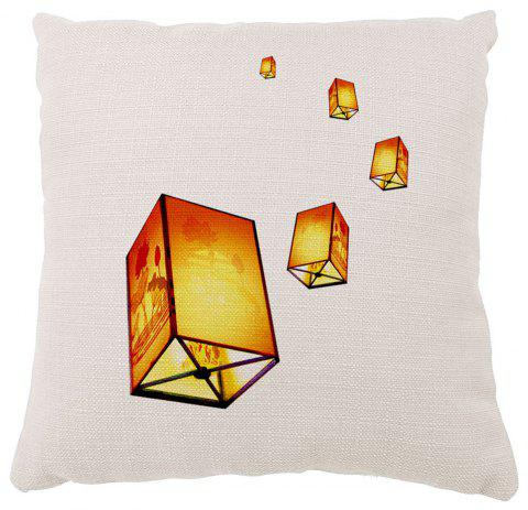 Lanterns Soft Solid Decorative Pillows Bedroom Design Home Furnishing Cushion Car - COLORMIX 16INCH X16INCH