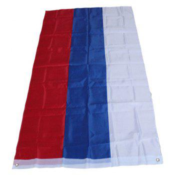 Hot Sale 90 x 150 Cm Flag of The Russian Federation Republic Flag High Quality Polyester Home Decor - COLORMIX