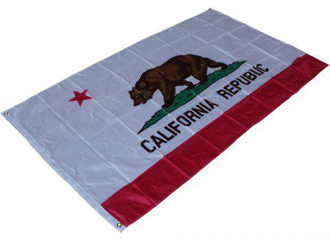 Hot California State Flag Polyester Flag Indoor Outdoor 90X150 Cm - COLORMIX