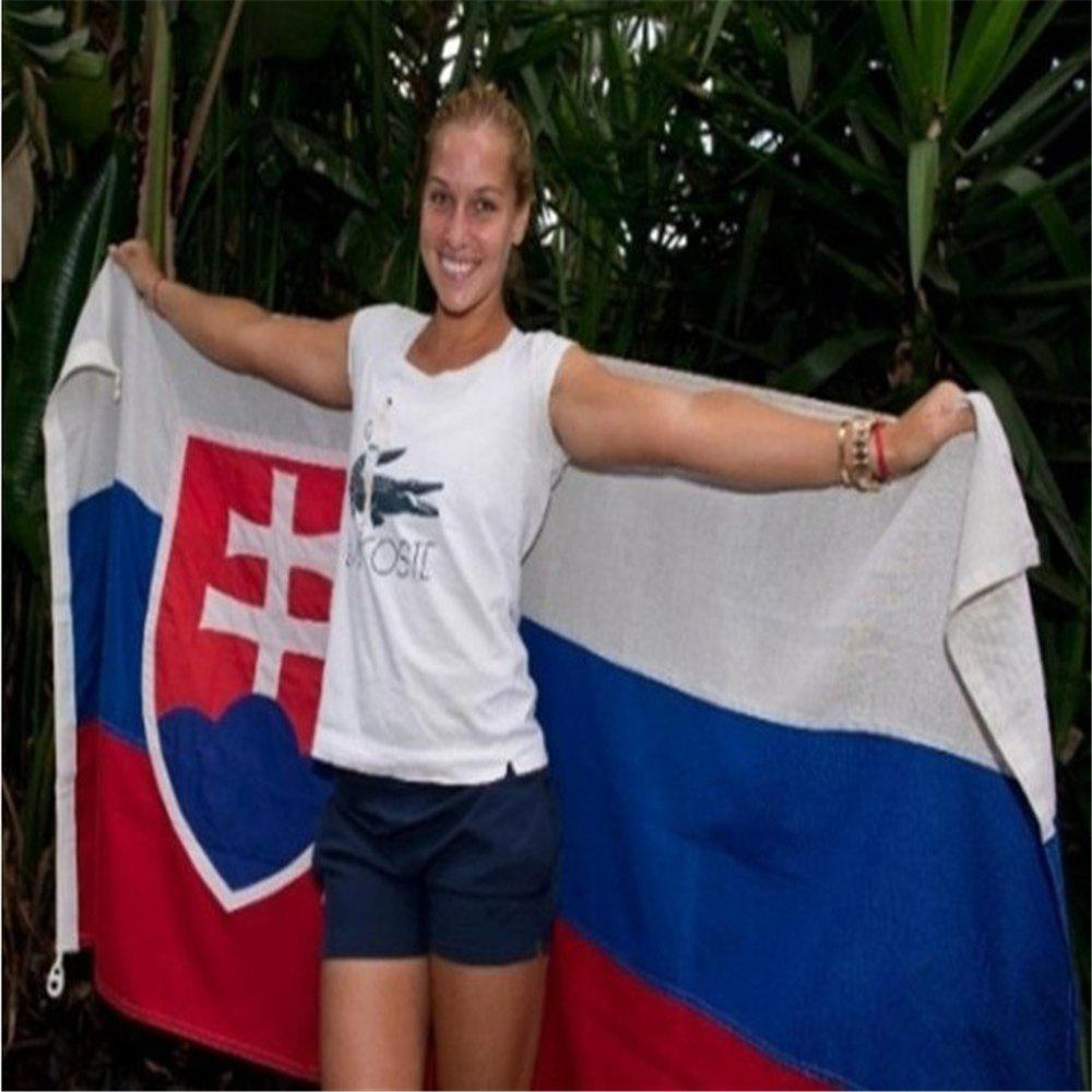 90 x 150CM Slovakia Flag Polyester UV Digital Printing Event Parade Holiday Home Decor - COLORMIX