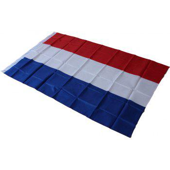 Hot 90X150 Cm Netherlands Flag Polyester Indoor and Outdoor Decoration New Fashion - COLORMIX