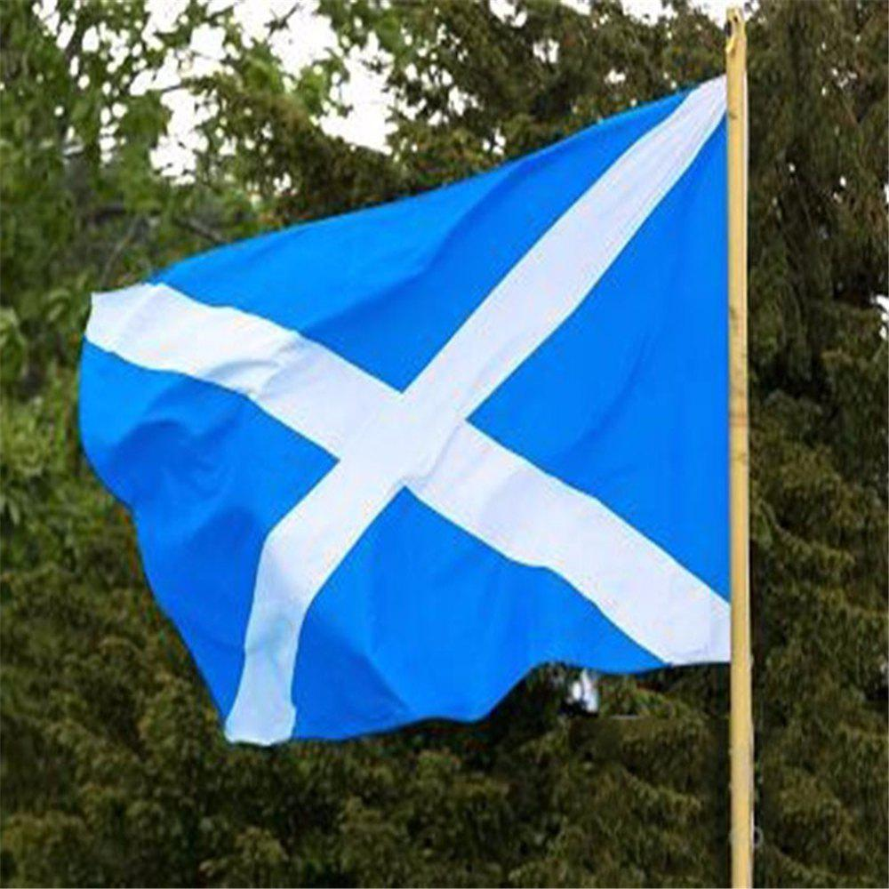 Hot Deals 90X150 Cm Scottish Flag Office Event Parade Festivals Home Decor New Fashion - COLORMIX