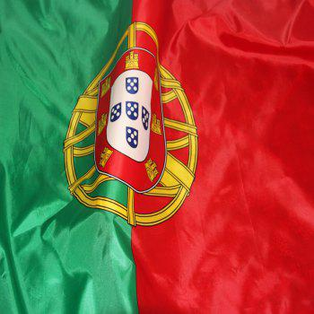 Hot Sale High Quality 90X150 Cm Portuguese Flag and Banner Outdoor Interior - COLORMIX