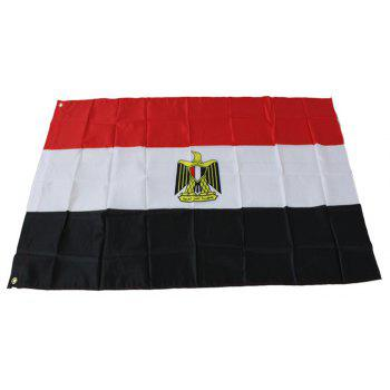 High Quality 90X150CM Egyptian Flag Polyester Festival Home Super Poly Indoor and Outdoor Decoration - COLORMIX
