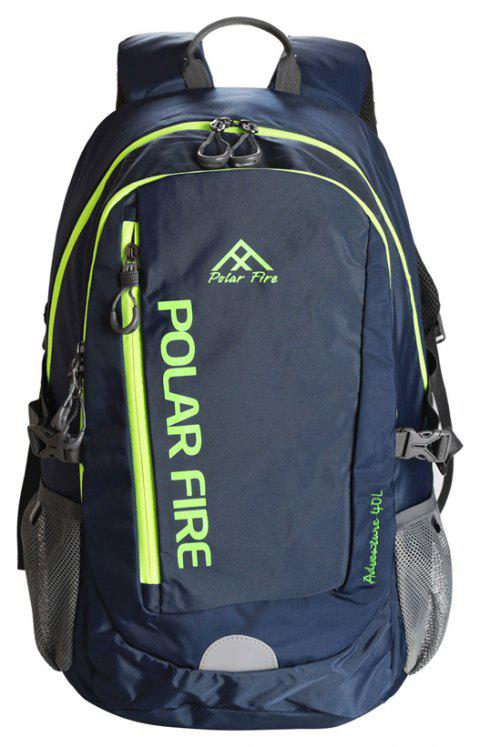PolarFire Large Capacity 40L Waterproof Backpack Outdoor Bag - CADETBLUE 40L