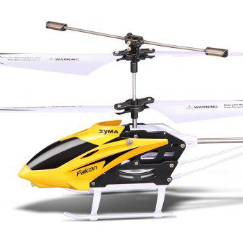SYMA W25 2CH Indoor Small RC Electric Aluminium Alloy Remote Control Helicopter for Kids - DAISY 1PC