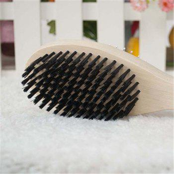 Dog Cleans and Beautifies Comb with Double-Sided Needle - WHITE SIZE S