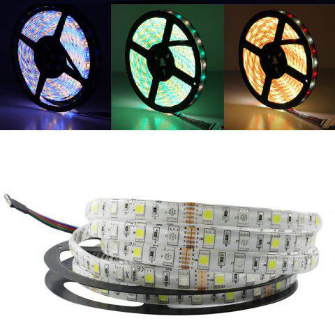 5M/Lot LED Strip 5050 RGBW DC 12V Flexible LED Light RGB + Warm White 60 LED/M - multicolor RGB+WARM WHITE
