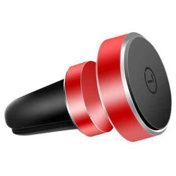 LINGCHEN Mgnetic Mobile Phone Holder for Car Air Vent - RED