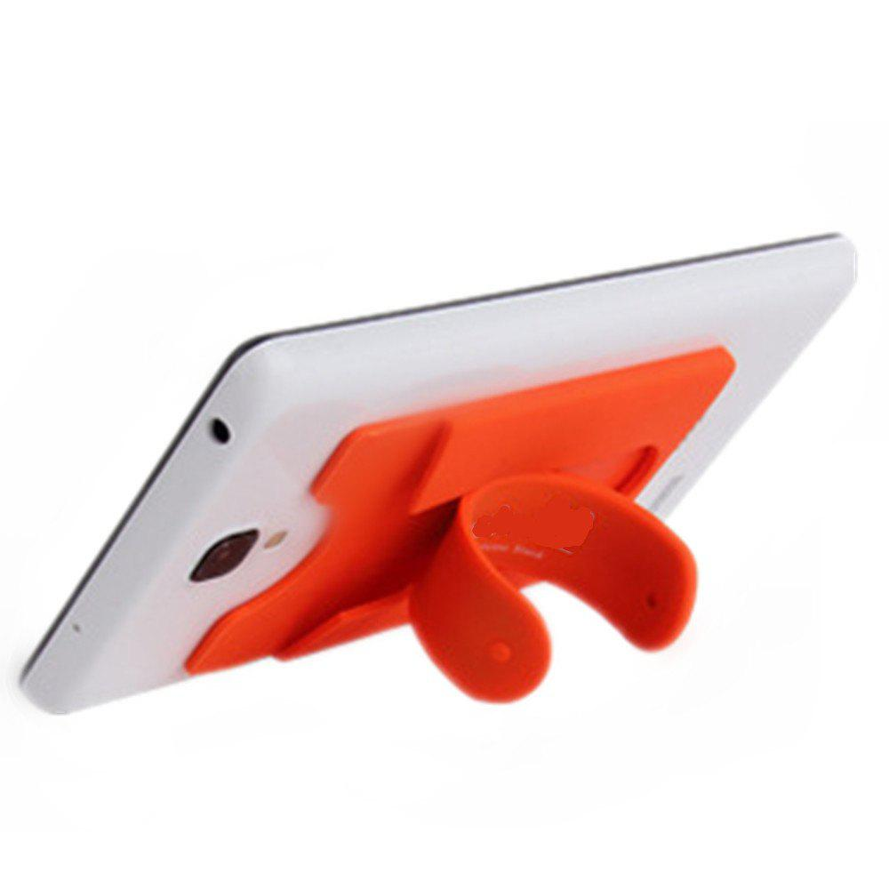 Silica Gel Jacket Bracket for Mobile Phone - MANDARIN