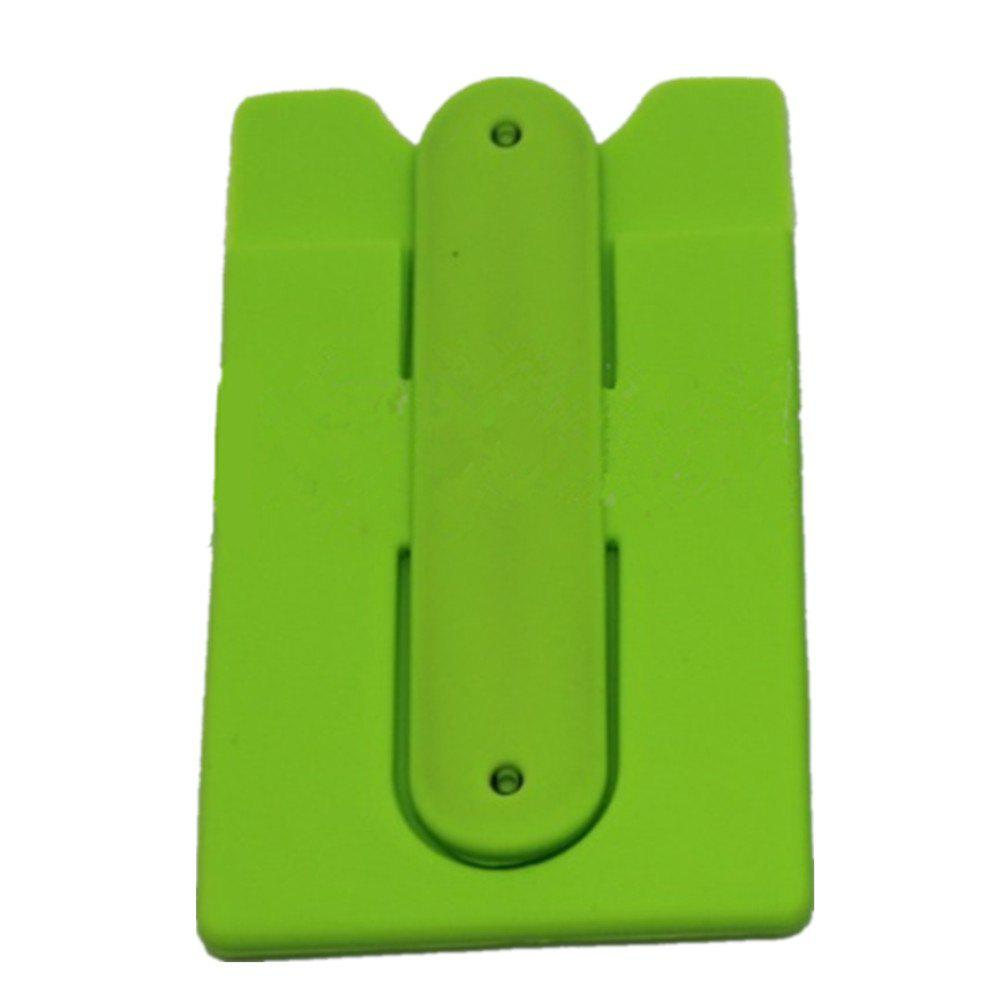 Silica Gel Jacket Bracket for Mobile Phone - GREEN