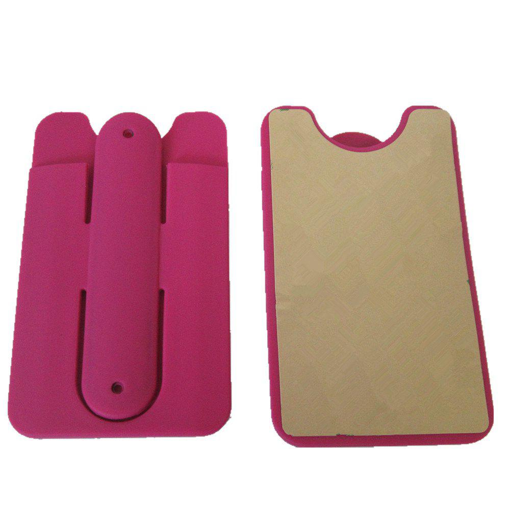 Silica Gel Jacket Bracket for Mobile Phone - RED