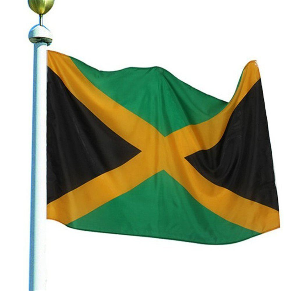 Best Selling High Quality 90X150 Cm Jamaica Flag Polyester Banner Outdoor - COLORMIX