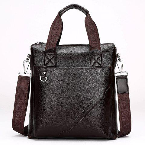 New Portable Casual Fashion Bag Male - BROWN