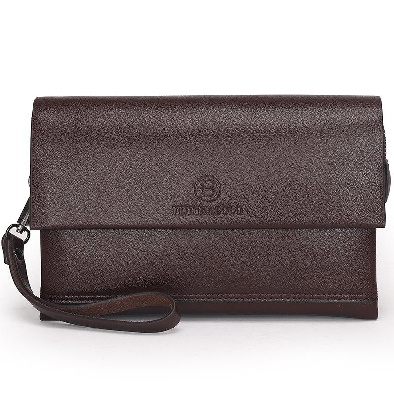 New Hand Multi-function Long Wallet - BROWN