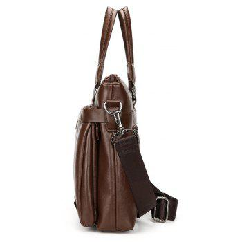 New Casual Fashion Briefcase Men - LIGHT BROWN