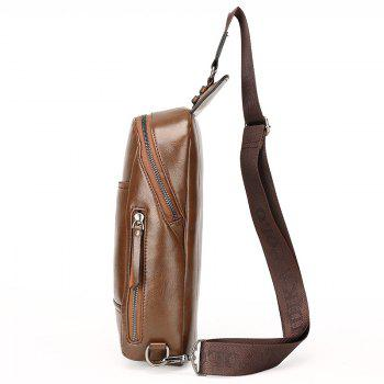 Nouveau Porte-documents Diagonal Casual Homme - Brun Clair