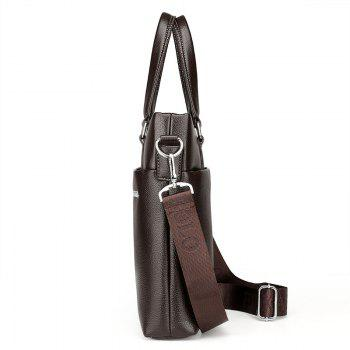 New Casual Fashion Portable Shoulder Bag Briefcase Male - BROWN