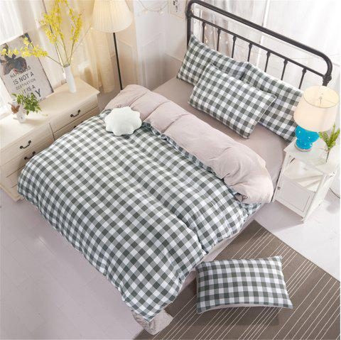 Warm and Modern Style Bedding Set - GRAY TWIN