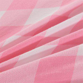 Warm and Modern Style Bedding Set - PINK TWIN