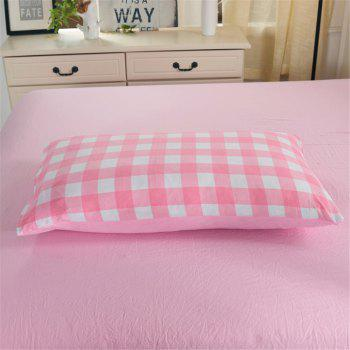 Warm and Modern Style Bedding Set - PINK QUEEN
