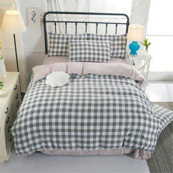 Warm and Modern Style Bedding Set - GRAY QUEEN