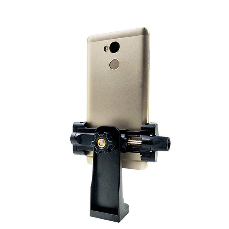 New Cell Phone Tripod Mount Adapter Holder Mount Clip for Phone - BLACK