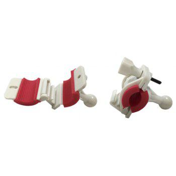 New Universal Bicycle Motorcycle Handlebar Phone Holder - WHITE