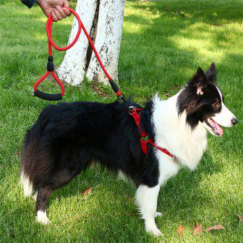 Pet Traction Rope Chest Chain Pet Supplies - RED SIZE L