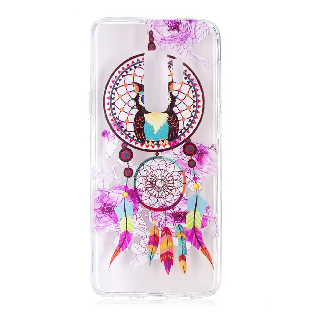 TPU Material Owl Wind Chimes Pattern Painted Phone Case for Samsung Galaxy S9 Plus - COLOUR