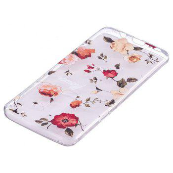 TPU Material Rose Pattern Painted Phone Case for Samsung Galaxy S9 Plus - COLOUR