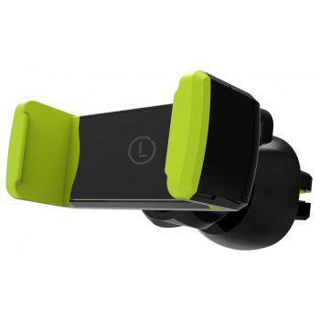 LINGCHEN Car Air Vent Mobile Phone Holder for 3.5 - 6 Inch - GREEN