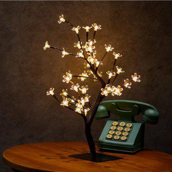 Table Lamp Creative Cherry Tree Design LED Decorative Home Night Light - WARM WHITE LIGHT