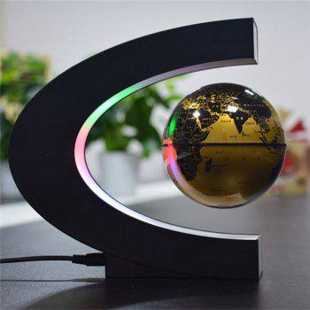 WS 0225 Creative Holiday Gifts Globe Model Office Supplies - GOLDEN