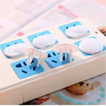 Secure Press Plug Protectors Outlet Plugs Child Baby Safety Outlet Covers - WHITE US