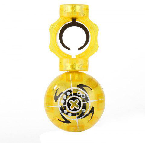 Magic Magnet Finger Ball Speed Spheres Spinner Play Game Stress Reducer Toy Gift - YELLOW