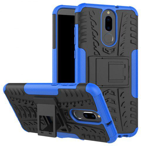 TPU + PC Hard Cover Phone Case for Huawei Mate 10 Lite / Maimang 6 - BLUE