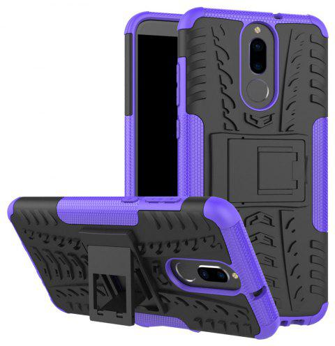 TPU + PC Hard Cover Phone Case for Huawei Mate 10 Lite / Maimang 6 - PURPLE