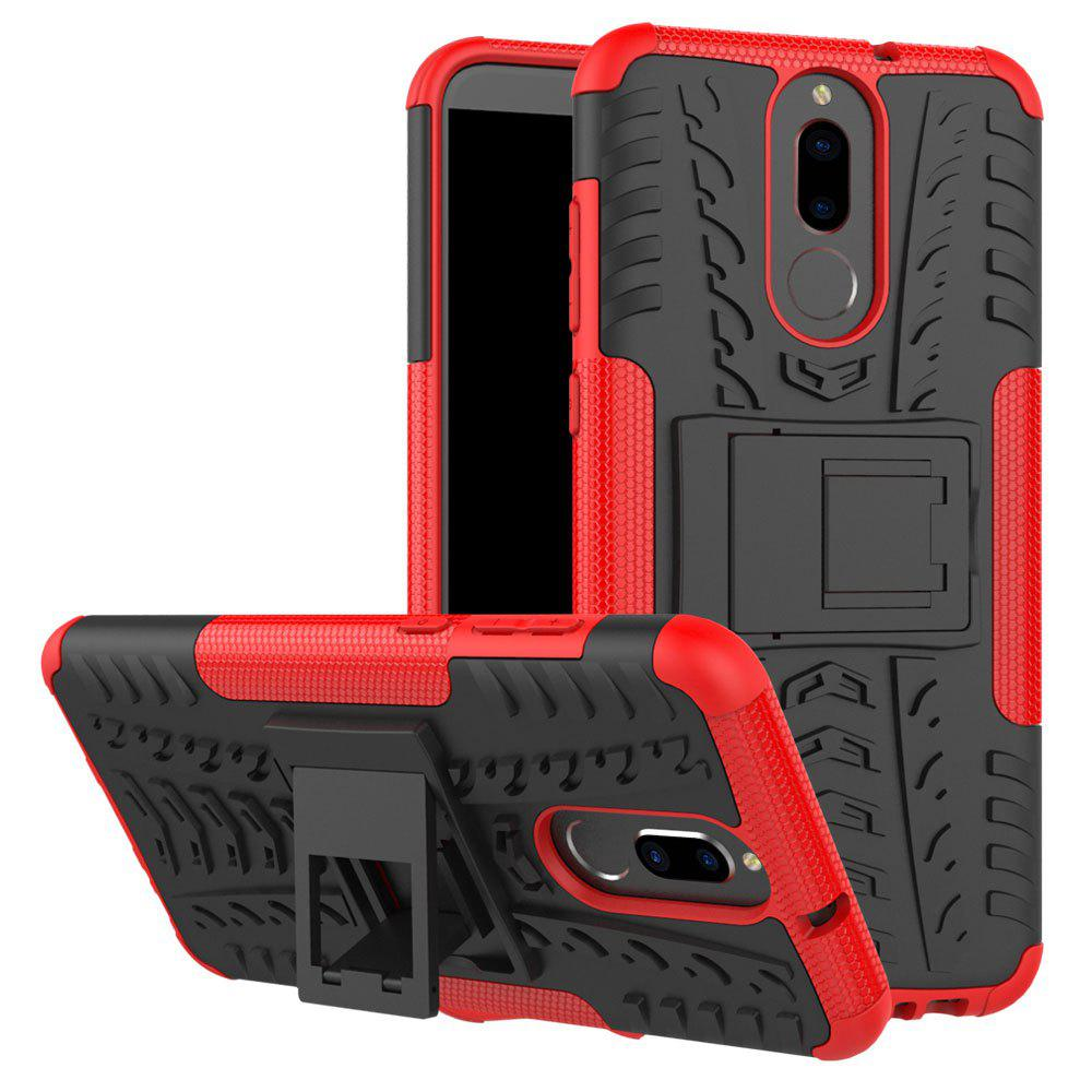 TPU + PC Hard Cover Phone Case for Huawei Mate 10 Lite / Maimang 6 - RED