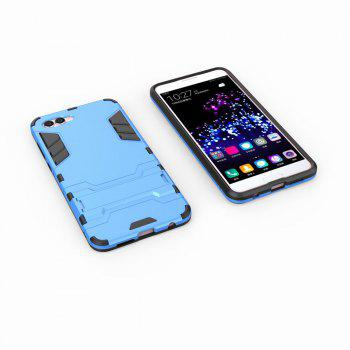For HUAWEI Nova 2S Case Hybrid Armor TPU + PC Case with Kickstand Holder Cover - BLUE