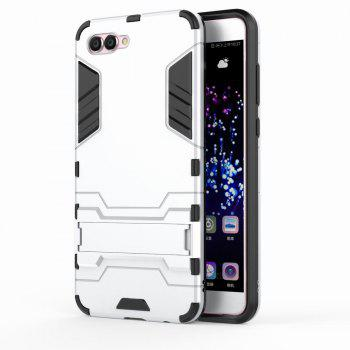 For HUAWEI Nova 2S Case Hybrid Armor TPU + PC Case with Kickstand Holder Cover - WHITE