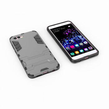 For HUAWEI Nova 2S Case Hybrid Armor TPU + PC Case with Kickstand Holder Cover - GRAY